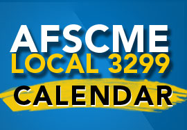 AFSCME Local 3299 Calendar