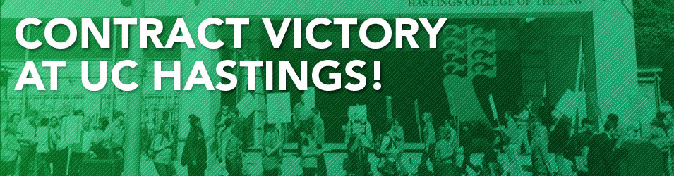 AFSCME 3299 - Latest Hastings Bargaining Update