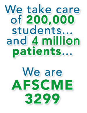 We Are AFSCME 3299!